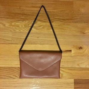Leather J. Crew shoulder bag